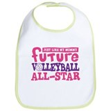 Future All Star Volleyball Girl Bib