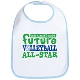 Future All Star Volleyball Boy Bib