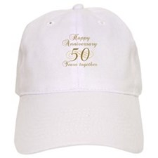 Stylish 50th Anniversary Baseball Cap
