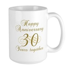 Stylish 30th Anniversary Mug