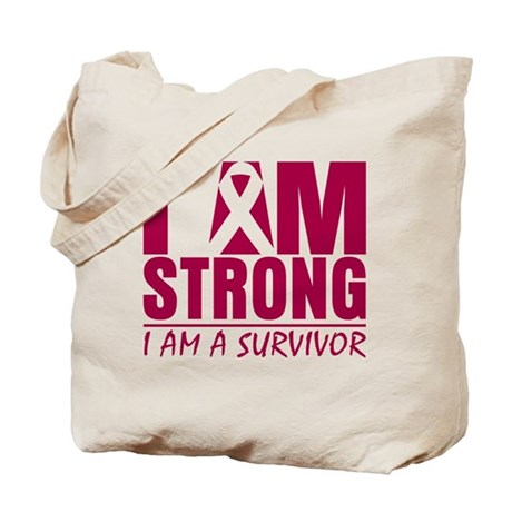 I am Strong Multiple Myeloma Tote Bag