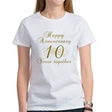 Stylish 10th Anniversary Tee