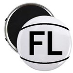 FLORIDA OVAL STICKERS AND MOR Magnet