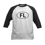 FLORIDA OVAL STICKERS AND MOR Kids Baseball Jersey
