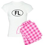 FLORIDA OVAL STICKERS AND MOR Women's Light Pajama