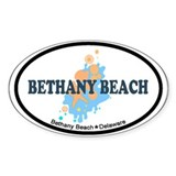 Bethany Beach DE - Seashells Design Decal