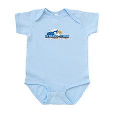 Bethany Beach DE - Waves Design Infant Bodysuit