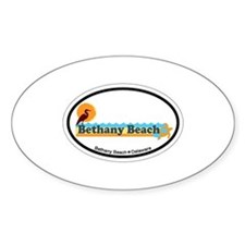 Bethany Beach DE - Beach Design Decal