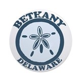 Bethany Beach DE - Sand Dollar Design Ornament (Ro