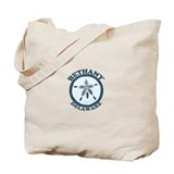 Bethany Beach DE - Sand Dollar Design Tote Bag