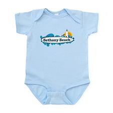 Bethany Beach DE - Surf Design. Infant Bodysuit