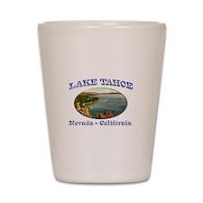 Lake Tahoe Shot Glass