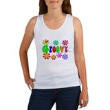 Retro Vintage 70's Women's Tank Top