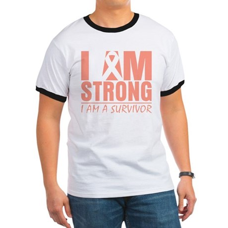 I am Strong Uterine Cancer Ringer T