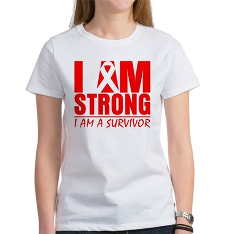 I am Strong Heart Disease Women's T-Shirt