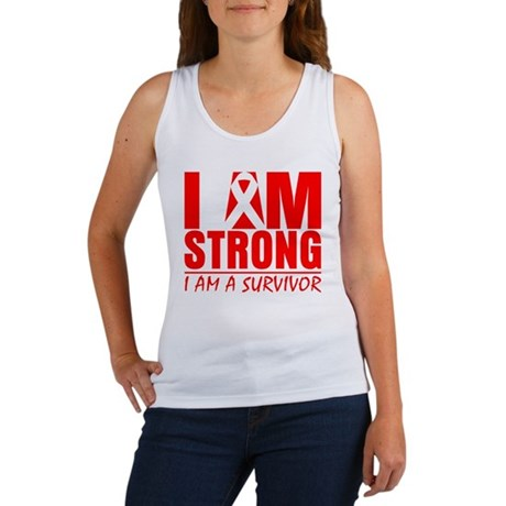 I am Strong Heart Disease Women's Tank Top