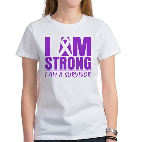 I am Strong Lupus Survivor Women's T-Shirt