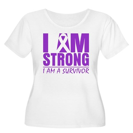 I am Strong Lupus Survivor Women's Plus Size Scoop