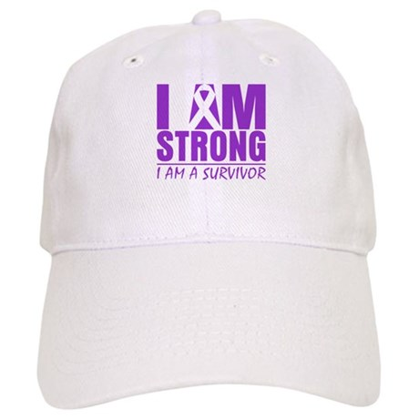 I am Strong Lupus Survivor Cap
