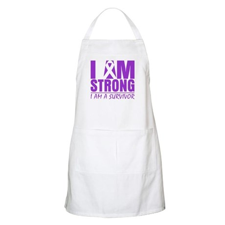 I am Strong Lupus Survivor Apron