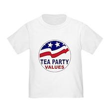 Tea Party Values T