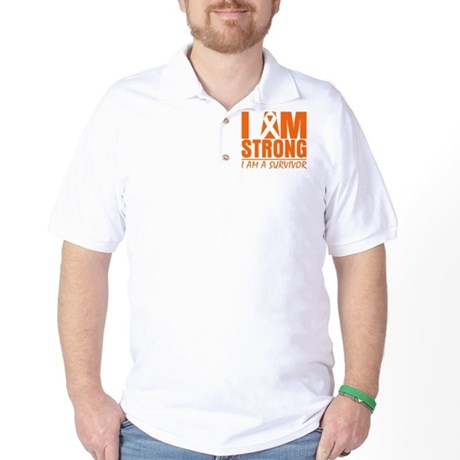 I am Strong Multiple Sclerosis Golf Shirt