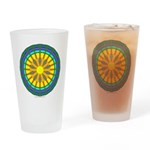 Sun Web Pint Glass