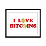 Bitcoins-4 Framed Panel Print