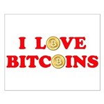 Bitcoins-4 Small Poster