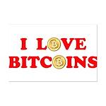 Bitcoins-4 Mini Poster Print