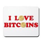 Bitcoins-4 Mousepad