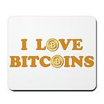 Bitcoins-6 Mousepad