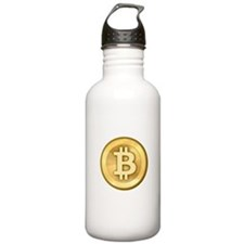 Bitcoins-5 Water Bottle