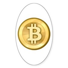 Bitcoins-5 Decal