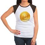Bitcoins-1 Women's Cap Sleeve T-Shirt