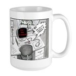 Mouse Error Cartoon Large Mug