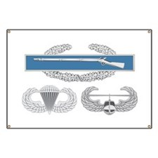CIB Airborne Air Assault Banner