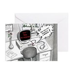 Mouse Error Cartoon Greeting Cards (Pk of 10)