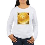 Bitcoins-3 Women's Long Sleeve T-Shirt