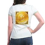 Bitcoins-3 Jr. Ringer T-Shirt