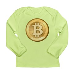 Bitcoins-5 Long Sleeve Infant T-Shirt