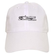 1960 Ford Thunderbird Convertible Baseball Cap