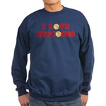Bitcoins-4 Sweatshirt (dark)