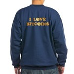 Bitcoins-6 Sweatshirt (dark)