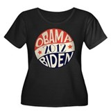 Vintage Obama Biden Women's Plus Size Scoop Neck D
