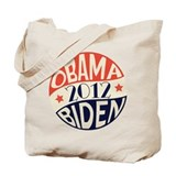 Vintage Obama Biden Tote Bag