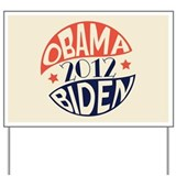 Vintage Obama Biden Yard Sign