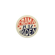 Vintage Obama Biden Mini Button