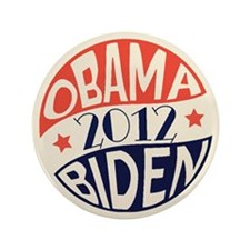 "Vintage Obama Biden 3.5"" Button (100 pack)"