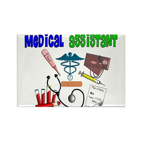 Medical Assistant Rectangle Magnet